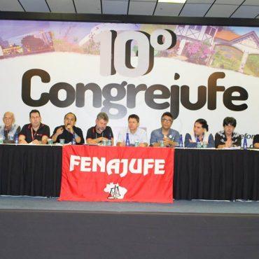 Congresso da Fenajufe.