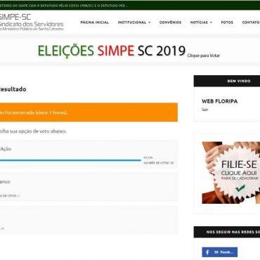 Resultado da Eleição Sindical.