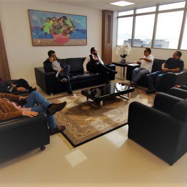 Reunião do SIMPE com o PGJ
