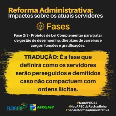 Reforma Administrativa: Impactos sobre os atuais servidores – Fase 2/3